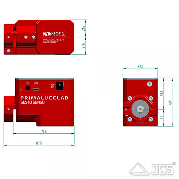 PrimaLuceLab SESTO SENSO 1 motorisierter Okularauszug
