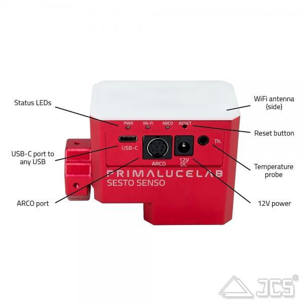 PrimaLuceLab SESTO SENSO 2 motorisierter Okularauszug mit WiFi