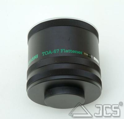 Flattener für Takahashi TOA-150 incl. Teile No. 80L, 82 u. 83