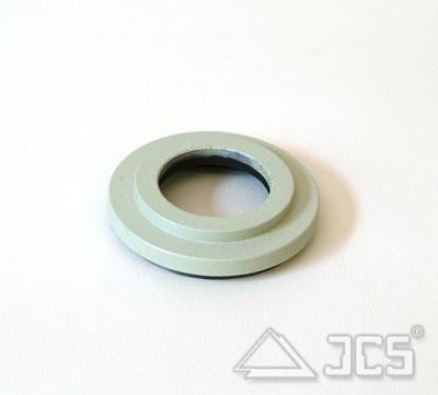72mm auf 43mm Anschlußring #10, FSQ-106F grün lackiert, Lichtweg 14mm
