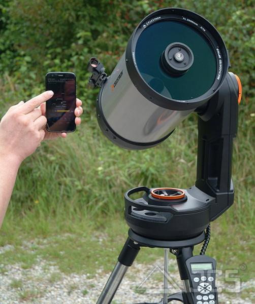Celestron NexStar EVO 8 GoTo Computerteleskop, incl. Montierung