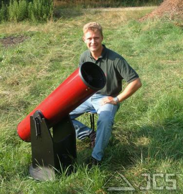 "Galaxy Dobson D8 Teleskop 8"" f/6 konfigurierbar"