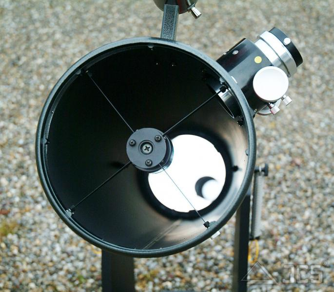 Galaxy D8-K-CR Dobson Teleskop 8'' f/6 mit BK7-Hauptspiegel