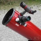 Galaxy D8-Q Dobson Teleskop 8'' f/6 mit Quartz-Hauptspiegel und Microfokus