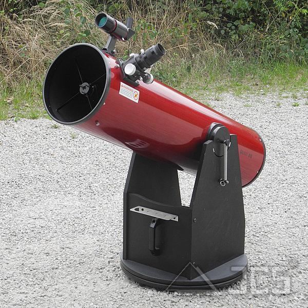 Galaxy D10-K Dobson Teleskop 10'' f/5 mit BK7-Hauptspiegel und Microfokus