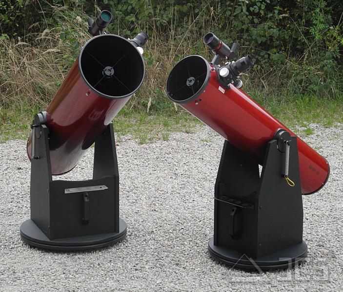 Galaxy D10-K-MC Dobson Teleskop 10'' f/5 mit BK7-Hauptspiegel und Microfokus