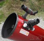 Galaxy D10-PQ Dobson Teleskop 10'' f/5 mit Premium Quartz-Hauptspiegel und Microfokus