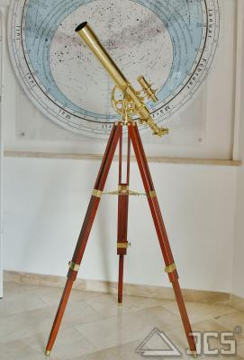 Historisches Messingteleskop 60/700