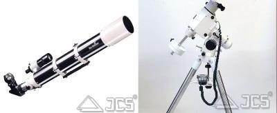 SkyWatcher Evostar 100ED ds-pro HEQ5-GT Komplettes Teleskop mit GoTo-Montierung