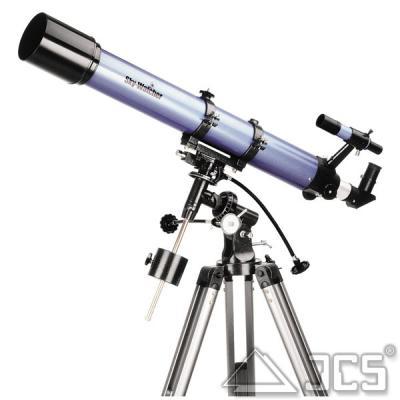 Teleskop SkyWatcher Evostar 90-EQ2 Fraunhofer 90/900 mit Montierung EQ2