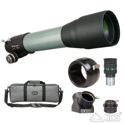 """TeleVue 85 micro 10:1 grün 2""""-Paket optischer Tubus, 85/600, f/7 APO"""
