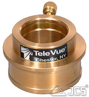 2'' auf 1,25'' Adapter TeleVue Equalizer aus Bronze, hoch, mit Spannring, extra schwer