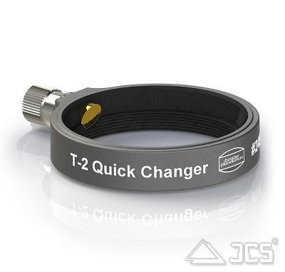 T2 Schwerlast Schnellwechsler Deluxe für Großfeld Bino mit Zeiss Micro-Bajonett