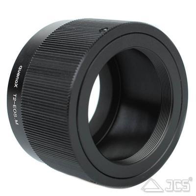 T2 Adapter auf Canon EOS M