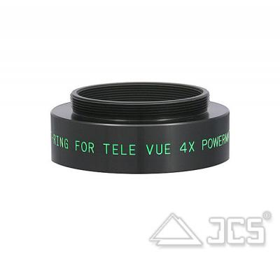 Adapter TeleVue 4x Powermate auf T2