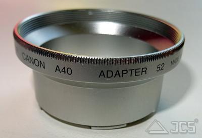 UDA-Anschlußtubus Canon A30/40