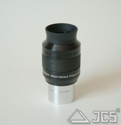 """Galaxy Projektions-Okular 1,25"""" 32mm *V* 1,25"""" Plössl 32mm mit Anschlußgewinde T2"""