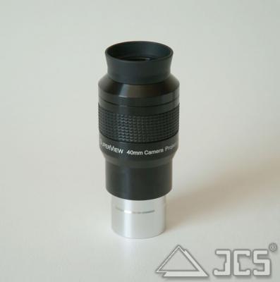 """Galaxy Projektions-Okular 1,25"""" 40mm 1,25"""" Plössl 40mm mit Anschlußgewinde T2"""