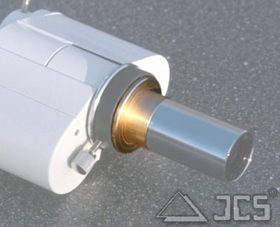 """Adapter 2x BinoVue Korrektor auf T2 mit 1,25"""" Steckanschluß"""