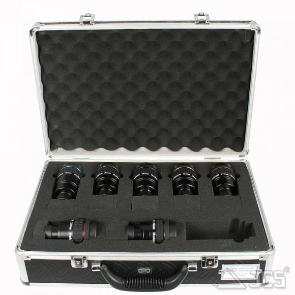 Hyperion Okularset Komplettpaket 7 Okulare 5-24mm im Koffer