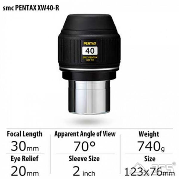 Okular SMC Pentax XW-40-R 40mm