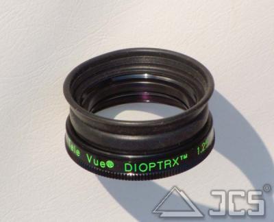 TeleVue Dioptrx 1,25 bei Astigmatismus/Zylinderfehler von 1,25 dpt