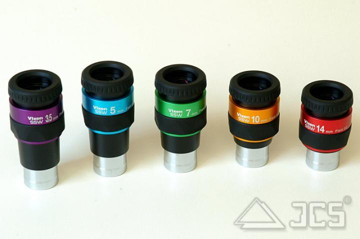 Vixen Weitwinkel-Okular SSW 7 mm