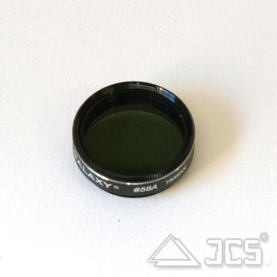 Galaxy Farbfilter 1,25'' #58A dunkelgrün