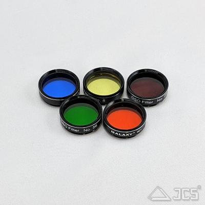 Galaxy 5er Farbfilter-Set zur Planetenbeobachtung