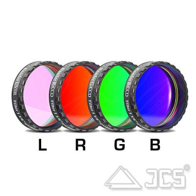 """1,25"""" Baader LRGB-CCD-Filtersatz bestehend aus 4 Filtern"""