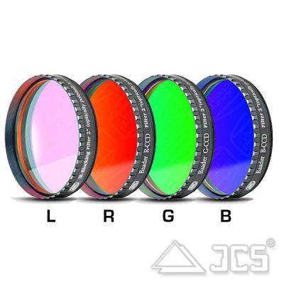 """2"""" Baader LRGB-CCD-Filtersatz bestehend aus 4 Filtern"""