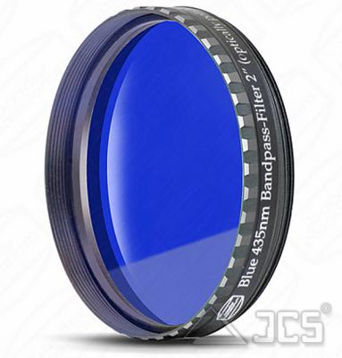 "2"" Baader Farbfilter dunkelblau 435 nm Bandpass, Phantom Coating"