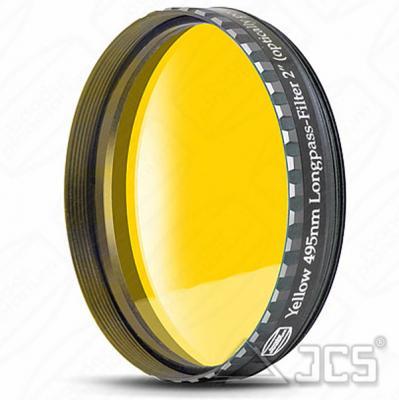 "2"" Baader Farbfilter gelb 495 nm Langpass, Phantom Coating"