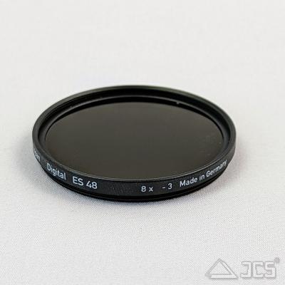 """Heliopan 2"""" Graufilter 8x hartvergütet Mondfilter ND 0,9 - Fassung 48 x 0,75"""