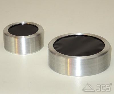 3,1'' ICS Sonnenfolie Fassung 3,5'' 89mm schwarze Polymer Sonnenfolie