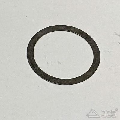 Distanzring aus Stahl D52/42mm für T2, Stärke 0,3mm