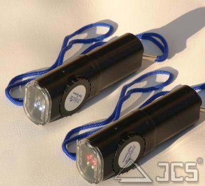 Twin-Skylite LED-Leuchte rot/weiß dimmbar, incl. 9V Blockbatterie