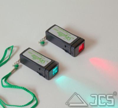 Mini-Skylite LED-Leuchte rot/grün dimmbar, incl. 9V Blockbatterie