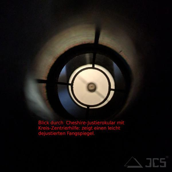 2 Zentrierhilfen (Zielkreis und Fadenkreuz) für ICS Cheshire Justierokular