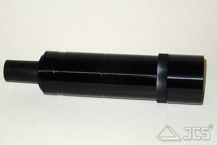Galaxy Sucher 8x50 incl. Halter, schwarz geradesichtig, kopfstehendes Bild