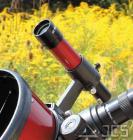 Galaxy Sucher 6x30 rot, incl. Halter geradesichtig, kopfstehendes Bild