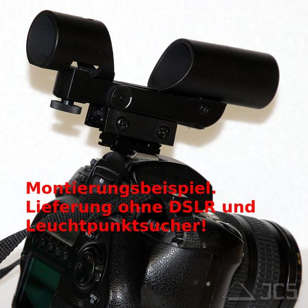Adapter Leuchtpunktsucher für Blitzschuh von DSLR Kameras