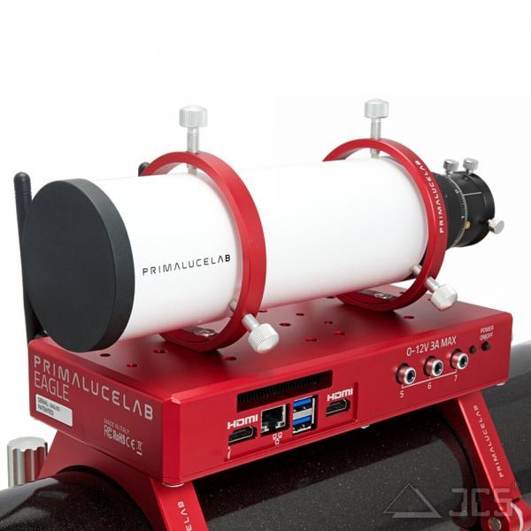 PrimaLuceLab 60mm Sucher / Leitrohr / Guidingscope CompactGuide scope mit 80mm Leitrohrschellen