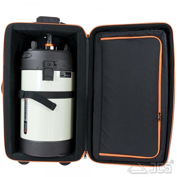 Koffer für Celestron NexStar 8/9,25 und 11 OTA Trolley mit Innenmaßen 660 x 356 x 305 mm
