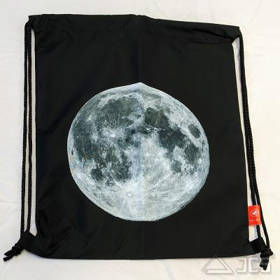 Oklop Beutel-Tasche L Motiv Super Moon 36,5 x 42,5cm mit Rucksack-Funktion