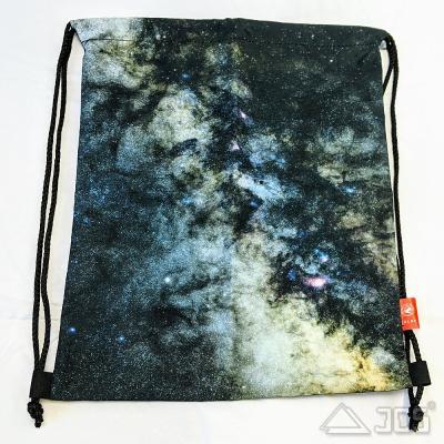 Oklop Beutel-Tasche L Motiv Milchstraße 36,5 x 42,5cm mit Rucksack-Funktion