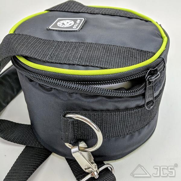 Oklop Tasche für 2x5kg Gegengewichte 19 x 12 x 19cm