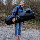 Oklop gepolsterte Tasche für Newton 250/1200 116 x 36 x 48cm