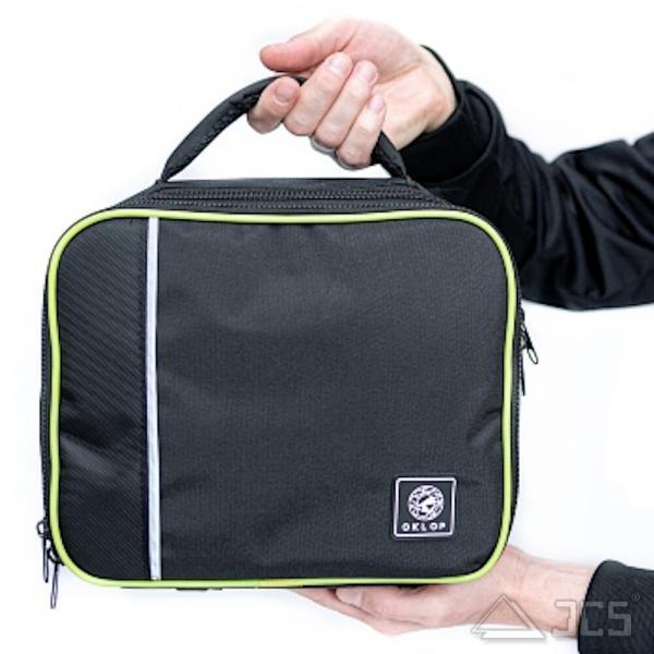 Oklop gepolsterte Koffer-Tasche für Okulare und Zubehör mit variablen Fächern 29 x 23,5 x 10cm