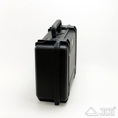 Outdoor Okular-Koffer 23, schwarz, Würfelschaum, Innen 23 x 18 x 10 cm